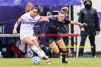 Spring 2021  Cal vs UW Women's Soccer