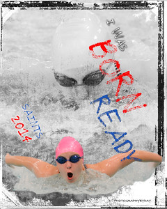 Girls Swim and Dive Collages