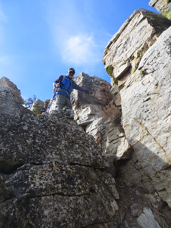 Pinyon Peak, December 22, 2017