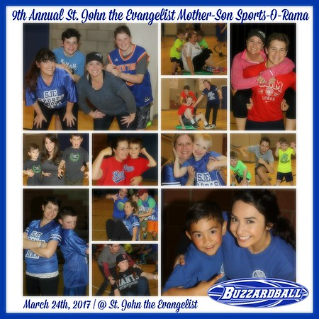 MARCH 24TH, 2017 | 9th Annual St. John the Evangelist Mother-Son Sports-O-Rama