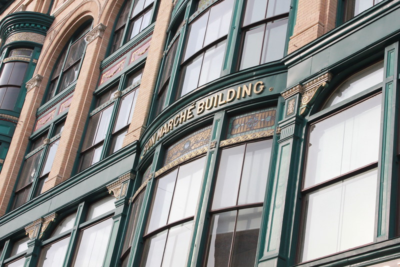 Bon Marche Building - Merrimack St. - Lowell, MA