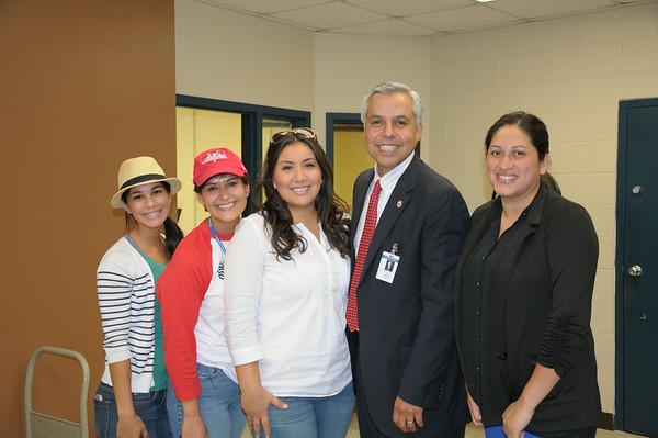 Dr. Cavazos Visit