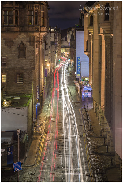 Cowgate from George IV Bridge