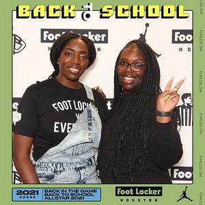 August 08, 2021 - Foot Locker Houston Back To School