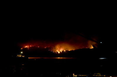 Angel Island Fire 2008