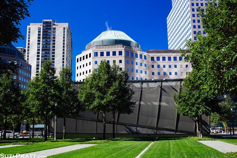 September 11th Memorial in New York City in Fall 2014