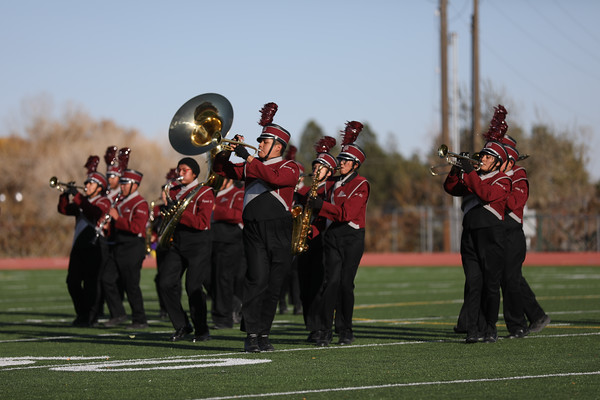 Shiprock HS Marching Band 10-30-19