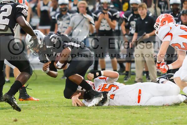 Boone Varsity Football #25 - 2013