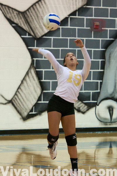 Girls Volleyball: Freedom at Stone Bridge JV (by Jeff Scudder)