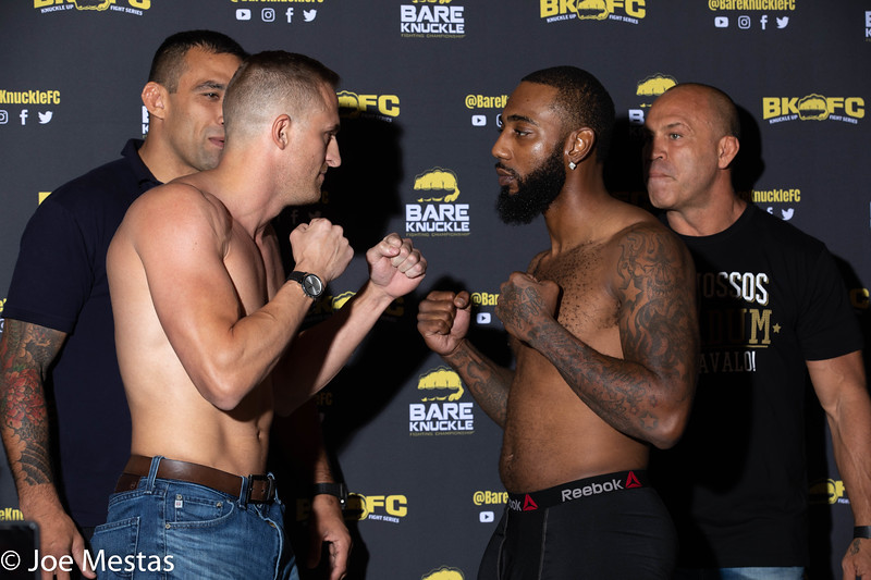 Bare Knuckles Fighting Championship 8 Weigh-in/Face-Off