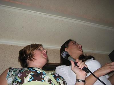 Karaoke in Seoul, September 2006