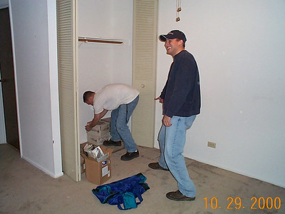 Moving Day - October 29, 2000