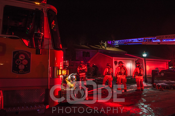 General Alarm House Fire (1/21/16)