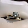 0.78ct Round Brilliant Diamond Bridal Set by Cartier 30