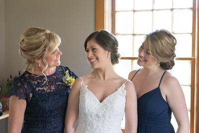 Ladies Getting Ready- Jessica & Nick Roy Wedding- Bliss Farm Barn Wedding Photos Granville, MA- New England Photographer