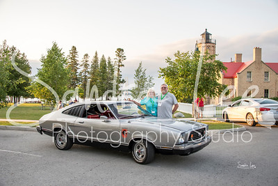 Kris and Mike Campbell with their Mustang II Stallion