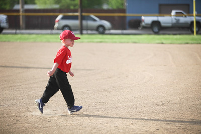Carters first baseball game