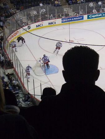 october 10th 2005 - the Capitals are back, but the fans?