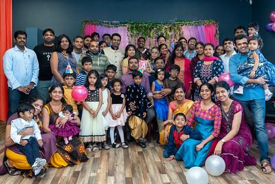 Akshara Saravanan- 01/26/2020 - 1st Birthday