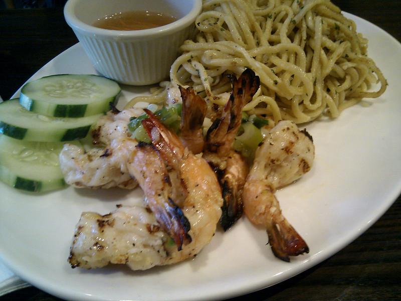 Perilla - Charbroiled Shrimps Garlic Noodle
