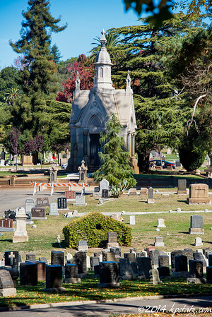 Mountain View Cemetery Oakland, CA 2014