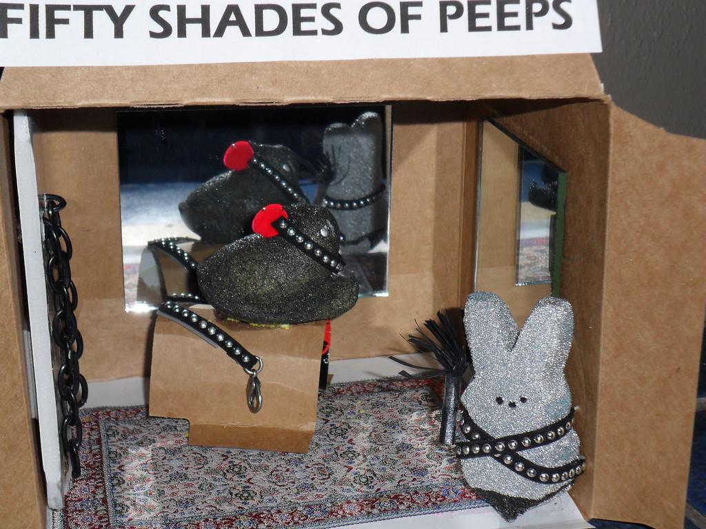 . Fifty Shades of Peeps. Lita Jaye Hunt,  Age 50