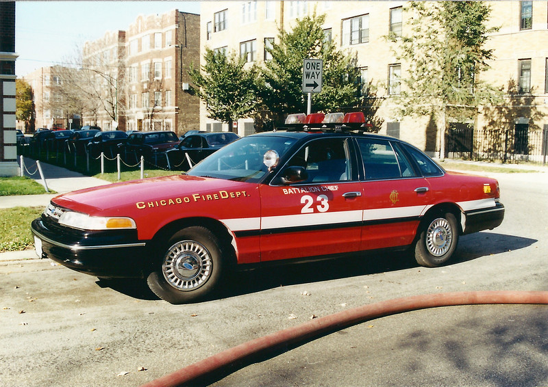 X Battalion 23 A-412 1996 Ford Crown Victoria