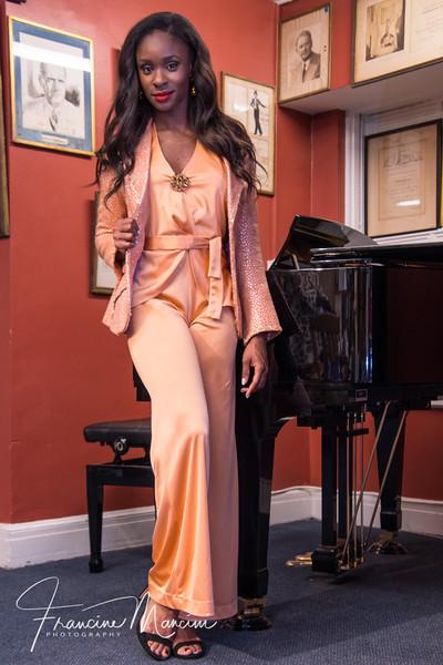 Chelsea Freeman in Chita Rivera's Bob Mackie outfit.