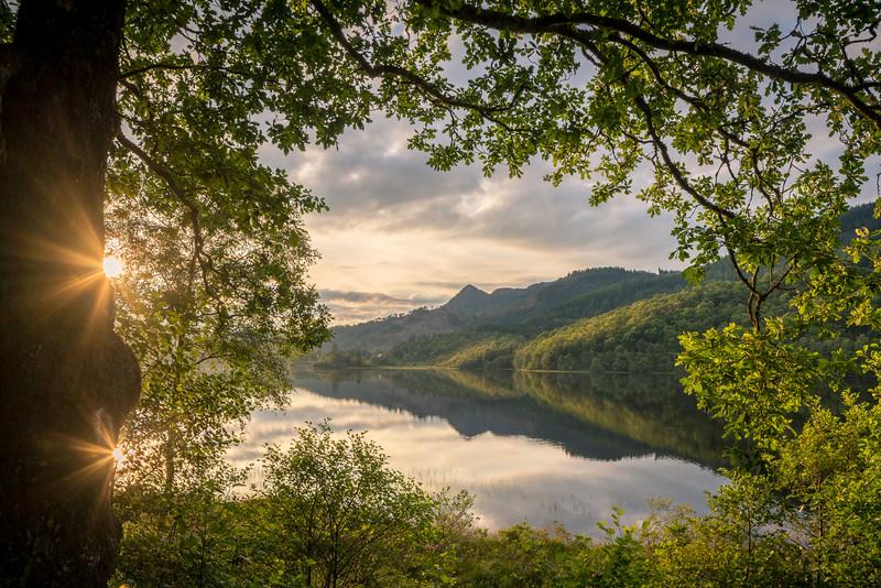 Loch Achray Double Sun Burst