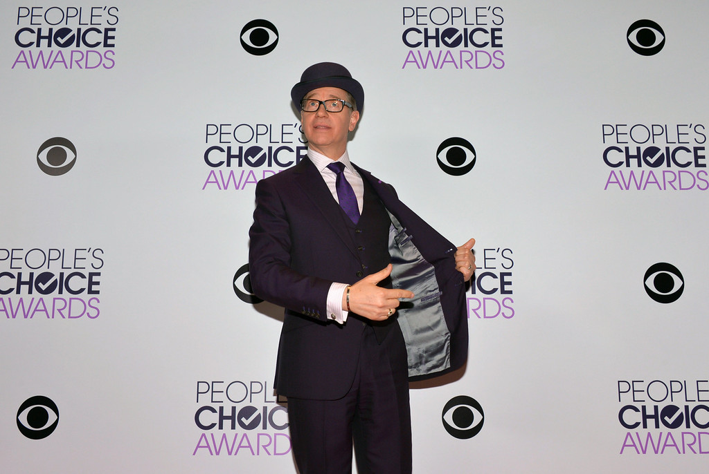 . Paul Feig poses in the press room at the 40th annual People\'s Choice Awards at Nokia Theatre L.A. Live on Wednesday, Jan. 8, 2014, in Los Angeles. (Photo by John Shearer/Invision/AP)