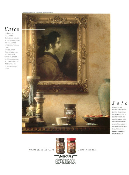 1990 NESCAFÉ instant coffee Spain (Rutas del Mundo).jpg