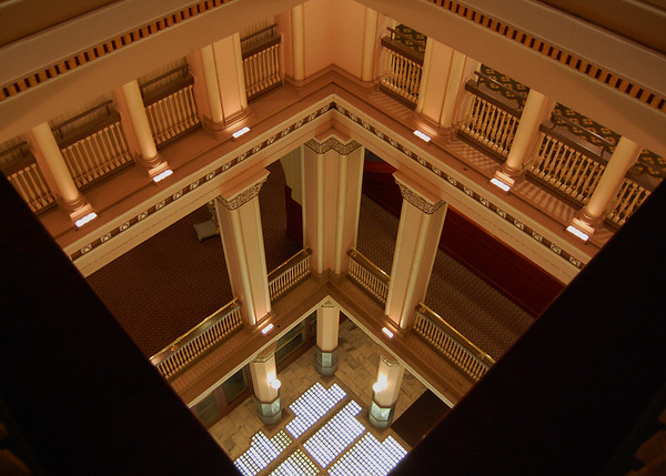 from the 5th floor looking down.