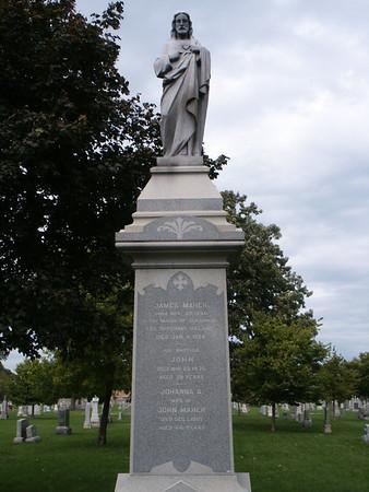 Calvary Catholic Cemetery, Evanston