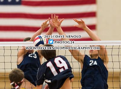 6/16/2015 - Boys Varsity Volleyball - MIAA D1 South Semifinal - Lincoln-Sudbury vs Needham
