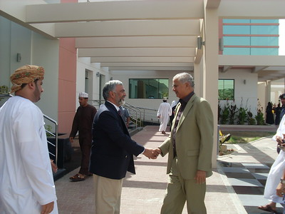 Visit of  Minister of Education Zanzibar