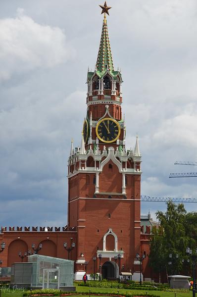 Spasskaya Tower, Kremlin, Moscow, Russia