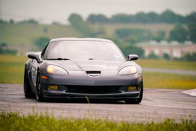 6 Gray Corvette