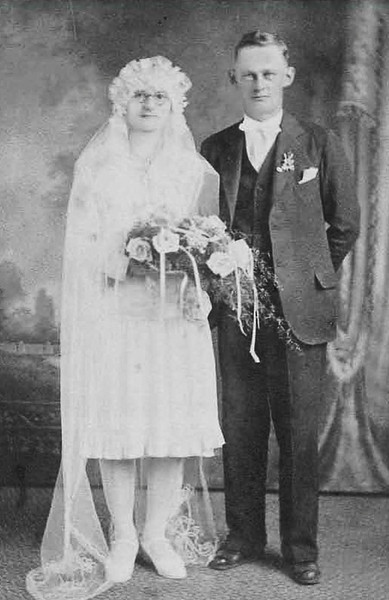 Stefan and Franciszka Mazurkiewicz, my paternal grandparents.