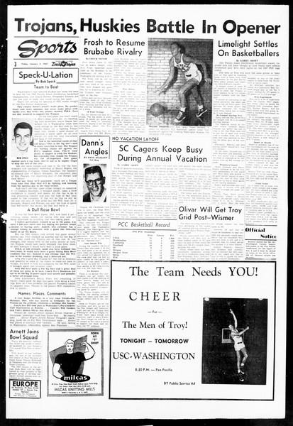 Daily Trojan, Vol. 48, No. 63, January 04, 1957