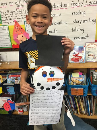 """Our """"Snowman"""" opinion writing!"""