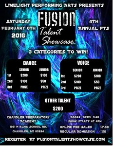 FUSION TALENT SHOWCASE 2016