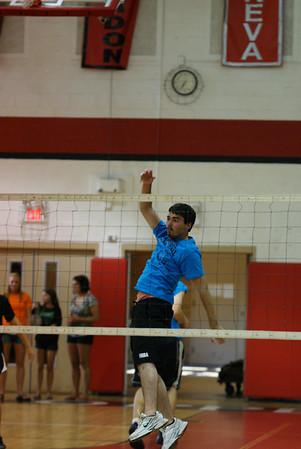 CHS Volleyball Jr vs. Sr Boys
