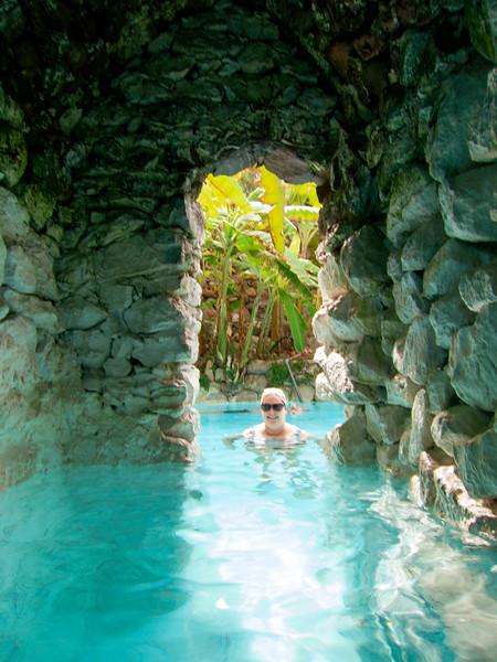 La Gruta Hot Springs, the cave entrance