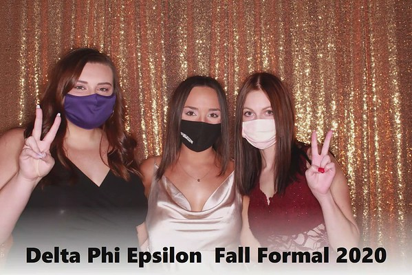 Delta Phi Epilson  Fall Formal 2020