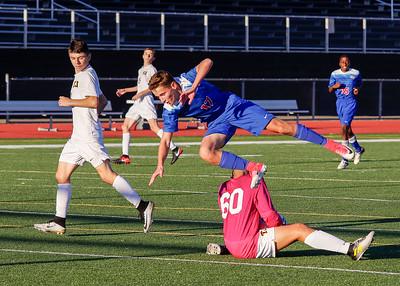 TJ Soccer 17 JV vs CV