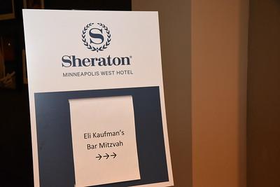 Eli's celebration at the Sheraton Mpls West