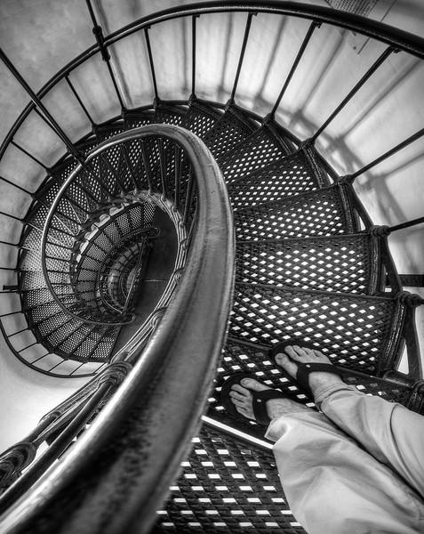 """My Feet"" - Yaquina Head Lighthouse - Newport, Oregon"
