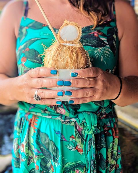 ayngelina holding coconut water.jpg