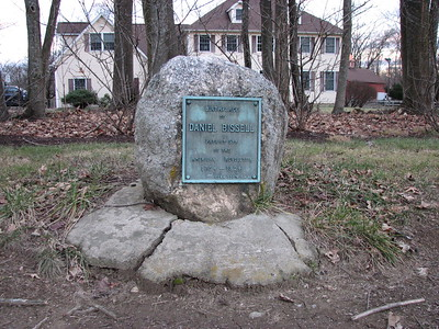 Daniel Bissell Birthplace Site and Grave *