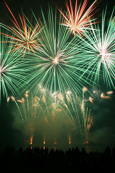 Belvoir mle fireworks
